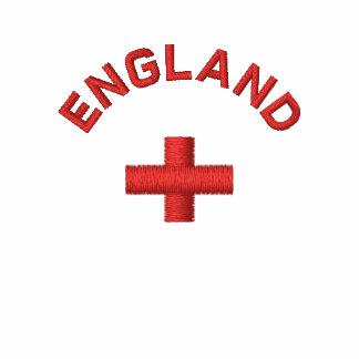 Inglaterra - bandera inglesa de la Cruz Roja Polo