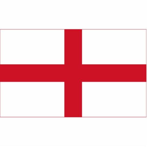 Inglaterra - bandera nacional inglesa escultura fotográfica