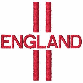 Inglaterra bordó el frente y la parte posterior de polo