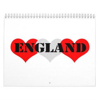 Inglaterra Calendarios De Pared