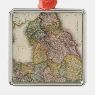 Inglaterra compuesta ornamentos de navidad