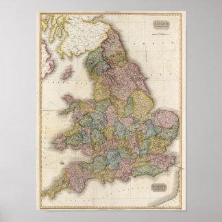 Inglaterra compuesta poster