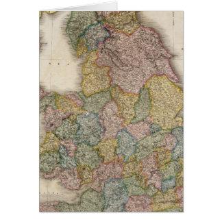Inglaterra compuesta tarjeta