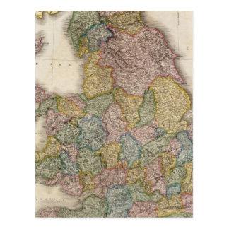 Inglaterra compuesta tarjeta postal