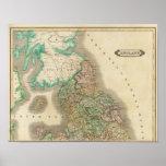 Inglaterra del norte poster
