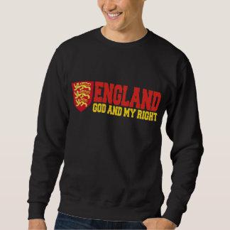 Inglaterra: Dios y la mi derecha Suéter