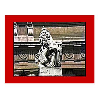 Inglaterra el león 198 del camino del Buckingham Postales