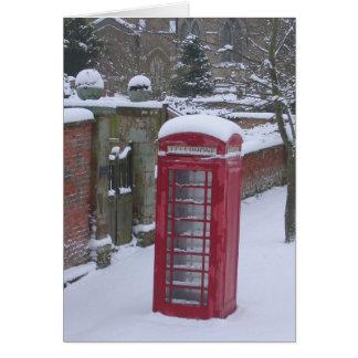 Inglaterra en invierno felicitaciones