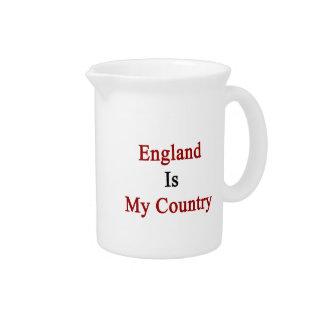 Inglaterra es mi país jarrones