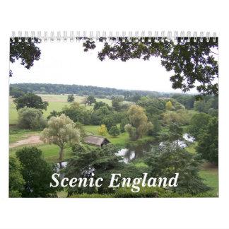 Inglaterra escénica calendario