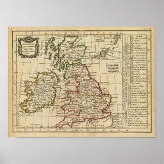 Inglaterra, Escocia, Irlanda Póster