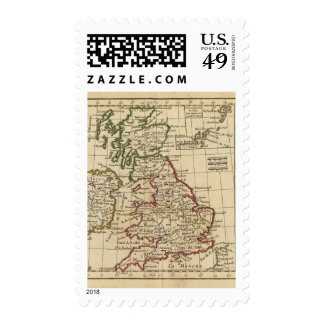 Inglaterra, Escocia, Irlanda Sello Postal