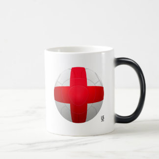Inglaterra - fútbol de tres leones taza