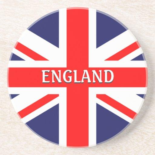 Inglaterra Gran Bretaña Londres Reino Unido britán Posavasos Personalizados