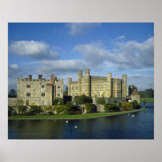 Inglaterra, Kent, Leeds Castle Poster