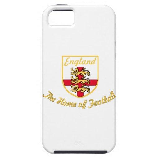 Inglaterra, leones, el hogar de la Insignia-w del iPhone 5 Case-Mate Cárcasas