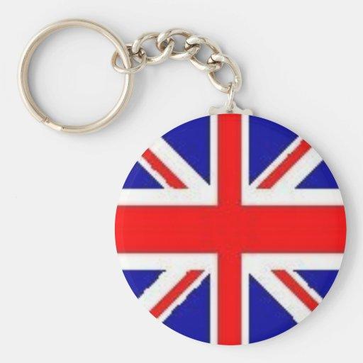 Inglaterra Llavero Redondo Tipo Pin