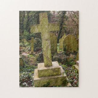 Inglaterra, Londres, cementerio de Highgate, Rompecabeza Con Fotos