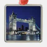 Inglaterra, Londres, puente 3 de la torre Ornamentos De Navidad
