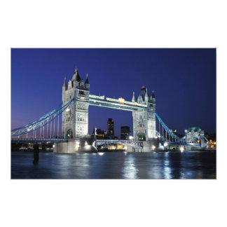 Inglaterra, Londres, puente 3 de la torre Impresiones Fotográficas