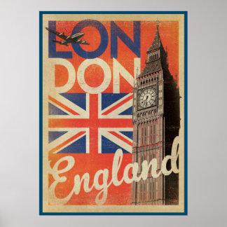Inglaterra, Londres. Reino Unido Póster