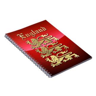 Inglaterra - los brazos reales note book