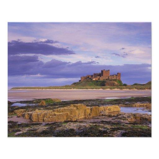Inglaterra, Northumberland, castillo de Bamburgh Fotografías