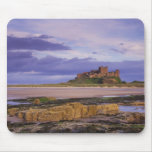 Inglaterra, Northumberland, castillo de Bamburgh Tapetes De Ratón