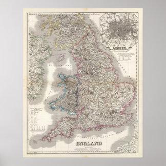 Inglaterra, País de Gales 2 Posters
