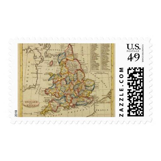 Inglaterra, País de Gales 6 Sellos