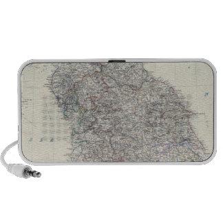 Inglaterra, País de Gales N Laptop Altavoces