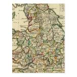 Inglaterra, País de Gales romano, moderna Tarjeta Postal