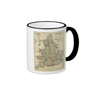 Inglaterra, País de Gales romano, moderna Taza De Café
