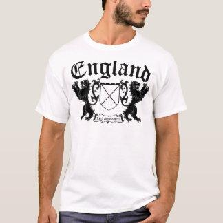 Inglaterra para los brazos del rey y de la capa O Playera