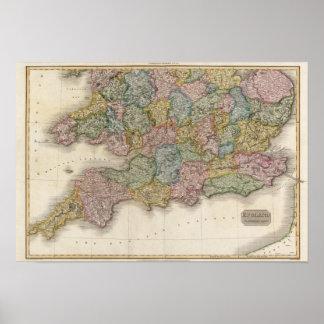 Inglaterra, parte meridional poster
