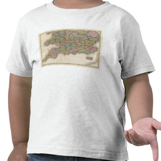 Inglaterra, parte meridional camisetas