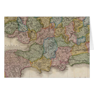 Inglaterra, parte meridional tarjetón