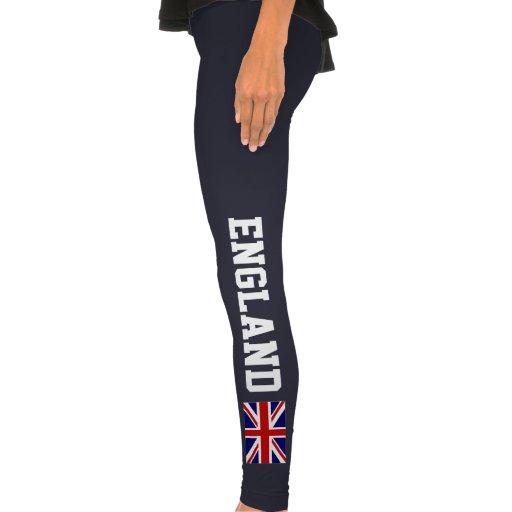Inglaterra se divierte la bandera de las polainas  leggings