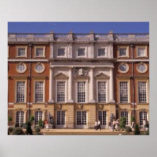 Inglaterra, Surrey, palacio del Hampton Court. 2 Póster