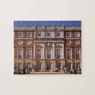 Inglaterra, Surrey, palacio del Hampton Court. 2 Rompecabezas Con Fotos