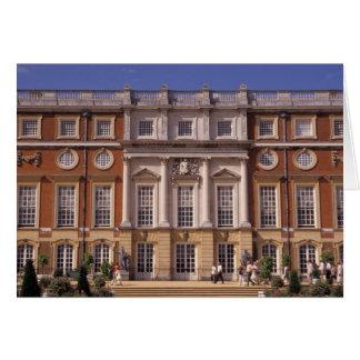 Inglaterra, Surrey, palacio del Hampton Court. 2 Tarjeta De Felicitación