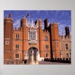Inglaterra, Surrey, palacio del Hampton Court. 3 Poster