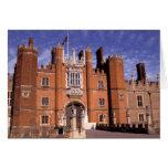 Inglaterra, Surrey, palacio del Hampton Court. 3 Tarjetón