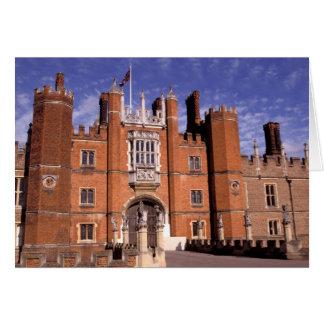 Inglaterra, Surrey, palacio del Hampton Court. 3 Tarjeta De Felicitación