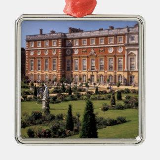 Inglaterra, Surrey, palacio del Hampton Court Adorno Navideño Cuadrado De Metal