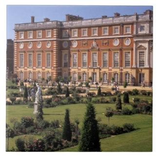 Inglaterra, Surrey, palacio del Hampton Court Azulejo Cuadrado Grande