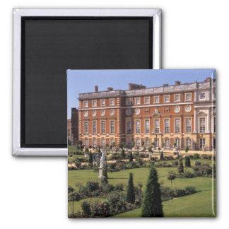Inglaterra, Surrey, palacio del Hampton Court Imán Cuadrado