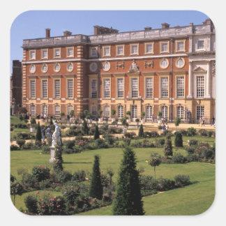 Inglaterra, Surrey, palacio del Hampton Court Pegatina Cuadrada