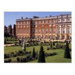 Inglaterra, Surrey, palacio del Hampton Court Tarjeta Postal
