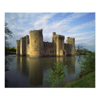 Inglaterra, Sussex, castillo de Bodiam Fotografía